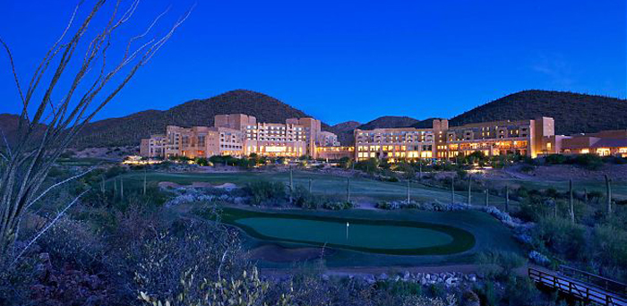 Starr Pass Resort nestled in the Tucson Mountains