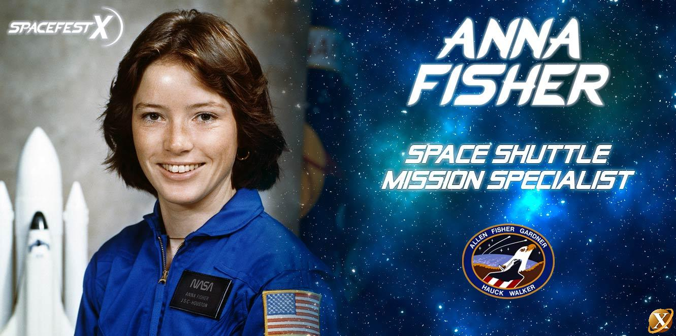 Dr  Anna Fisher – Spacefest